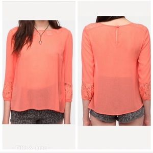 Urban Outfitters Pins and Needles Sheer Blouse